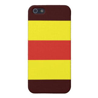 (2) Flagge des Signal-zwei iPhone 5 Etui