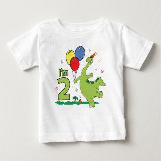 2. Geburtstag Dino Baby T-shirt