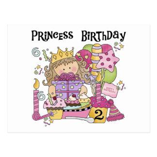 2. Geburtstag T-Shirts und Geschenke Postkarte