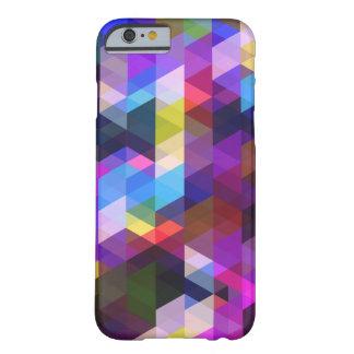 2 géométriques abstraits coque barely there iPhone 6