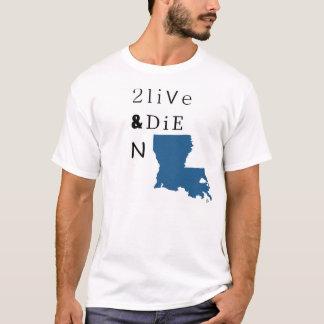 2 Live u. die n-LA T-Shirt