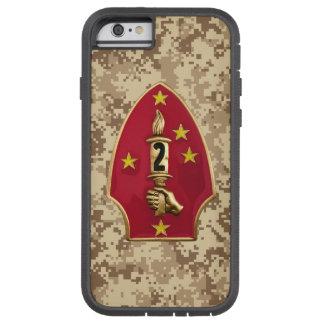 """2. Marineabteilung """"die stille zweite"""" Camouflage Tough Xtreme iPhone 6 Hülle"""
