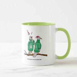 2. Tag Tasse der Weihnachten(2 Schildkröte-Tauben)