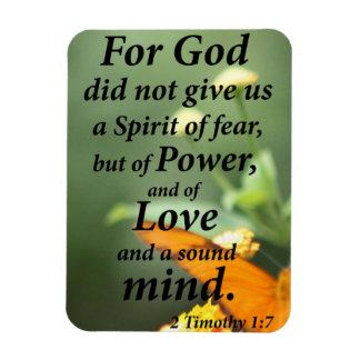 2 Timothy-1:7 Magnet