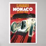 2ème Grand prix De Monaco Poster