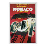 2ème Grand prix De Monaco Posters