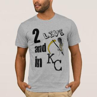 2LIVE&DIEinKC T-Shirt