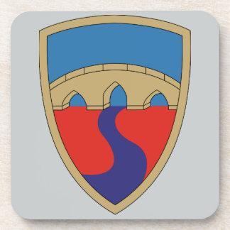 304th Unterstützungs-Brigade Getränkeuntersetzer