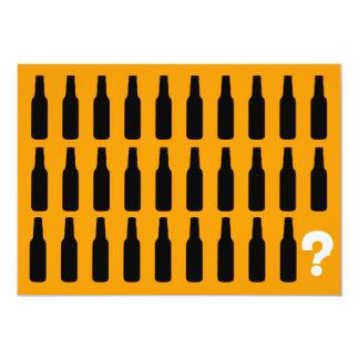 30. Geburtstags-Einladungen - Bier-Beifall! Karte