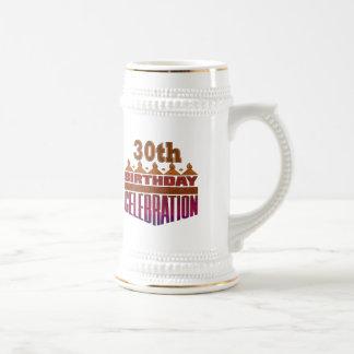 30. Geburtstags-Feier-Geschenke Bierglas