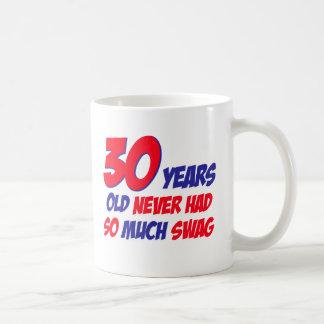 30 Jahre alte Geburtstagsentwurf Kaffeetasse
