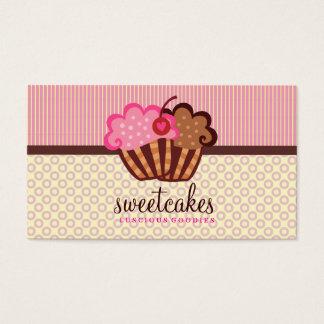 311 punktiert der süße Kuchen-kleine Kuchen Visitenkarten