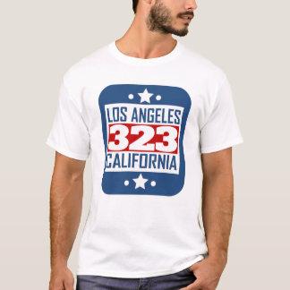 323 Los Angeles CA Postleitzahl T-Shirt