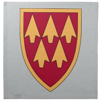 32. Luft-u. Flugverteidigungs-Befehl Stoffserviette
