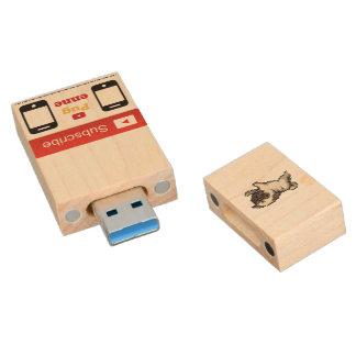 32G Pugenne USB Stock Holz USB Stick