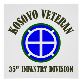 35. Infanteriedivision - Kosovo Poster