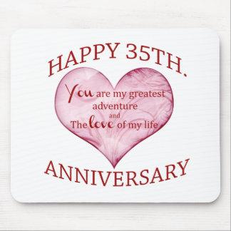 35. Jahrestag Mauspad