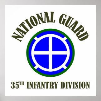 35. Nationalgarde der Infanterie-Div. | Poster