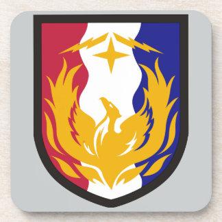 36. Unterstützungs-Brigade Getränkeuntersetzer