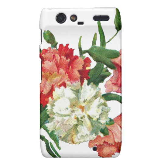 3800 carnation1 droid RAZR cover