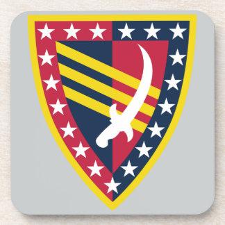 38. Unterstützungs-Brigade Getränkeuntersetzer