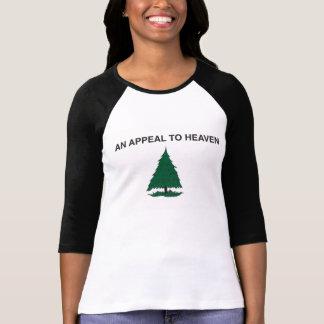 3/4 die Hülsen-T-Stück der Frauen - ATH T-Shirt