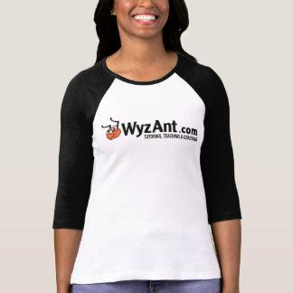 3/4 Längen-Logo-Wecker T T-Shirt