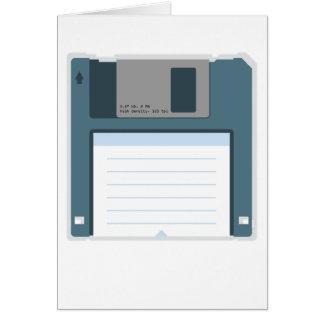 3,5 Diskette-Gruß-Karte (doppelseitig)