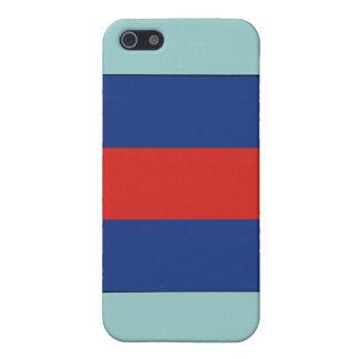 (3) Flagge des Signal-drei iPhone 5 Hüllen