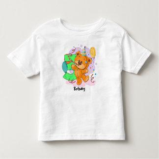 3. Geburtstags-Teddybär Kleinkind T-shirt