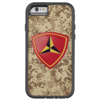 "3. Marineabteilungs-""kämpfendes Drittel-"" Tough Xtreme iPhone 6 Hülle"