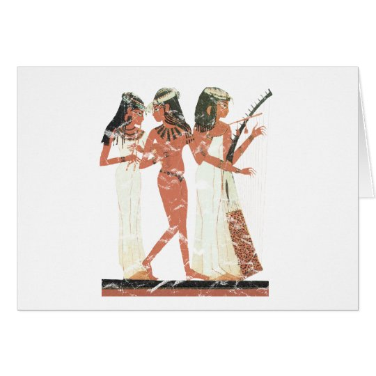 3 Musiker Grußkarte