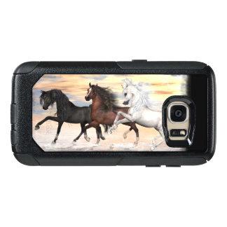 3 Pferdependler-Reihen-Fall, Auswahl-Telefon-Art OtterBox Samsung Galaxy S7 Hülle