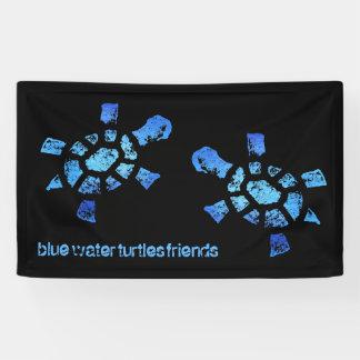3' x5 Freunde der blaues Wasser-Schildkröten Banner