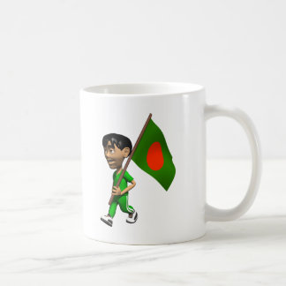 3D Bangladesch Kaffeetasse