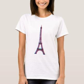 3D Eiffel (Frauen) T-Shirt