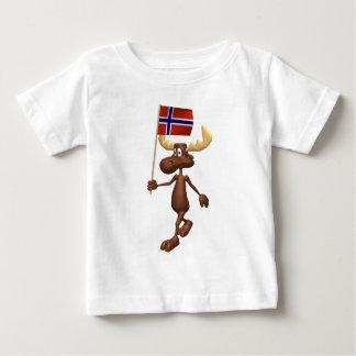 3D Norwegen Baby T-shirt
