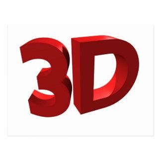 3D POSTKARTE