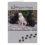 4004 Hunde des Chefs Tages, alle uns Karte