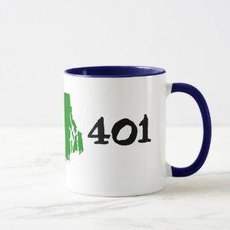 401, Postleitzahl von Rhode Island! Tasse