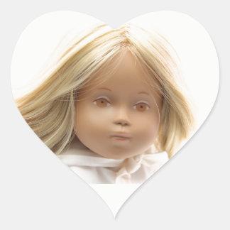 40223 Sasha Baby Puppe Irka Aufkleber Herzchen