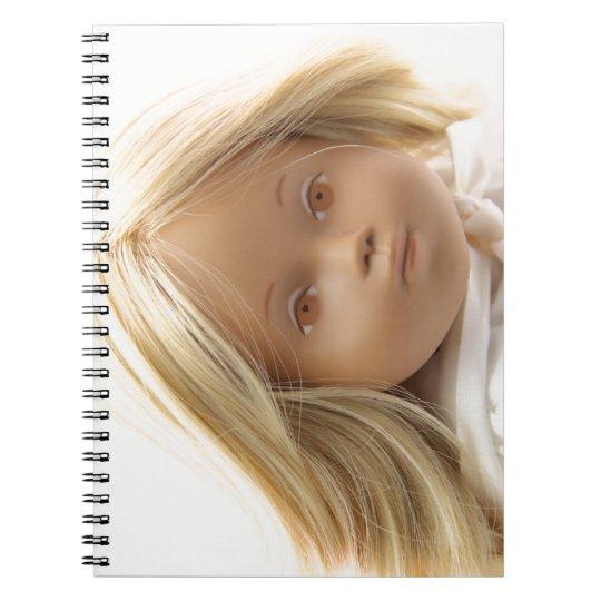 40223 Sasha Baby Puppe Irka Notizbuch Spiral Notizblock