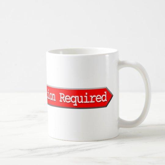 407 - Authentisierung erfordert Kaffeetasse