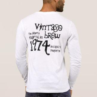 40. Geburtstags-Geschenk1974 Vintager Brew V3 Hemd