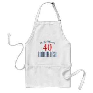 40. Geburtstags-heftiger Schlag! Schürze