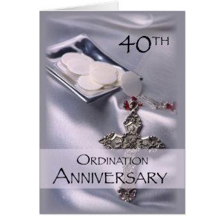 40. Klassifikations-Jahrestags-Glückwünsche, Wirte Karte