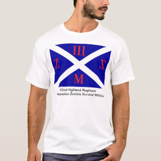 42. Hochland-Regiment WZSM T-Shirt