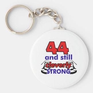 44 Geburtstags-Entwurf Schlüsselanhänger