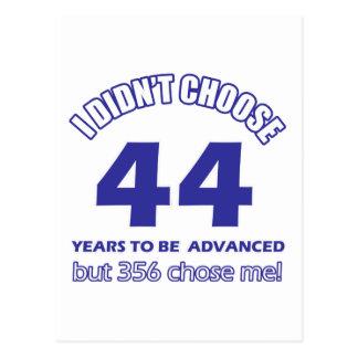 44 Jahre Förderung Postkarte