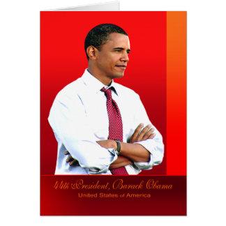 44. Präsident, Barack Obama Karte